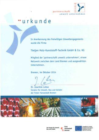 Partnerschaft Umwelt Unternehmen