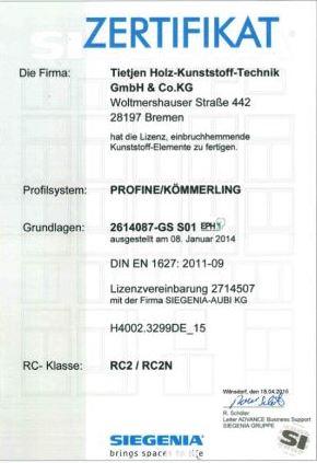 Siegenia-Kunststoff RC2-RC2N